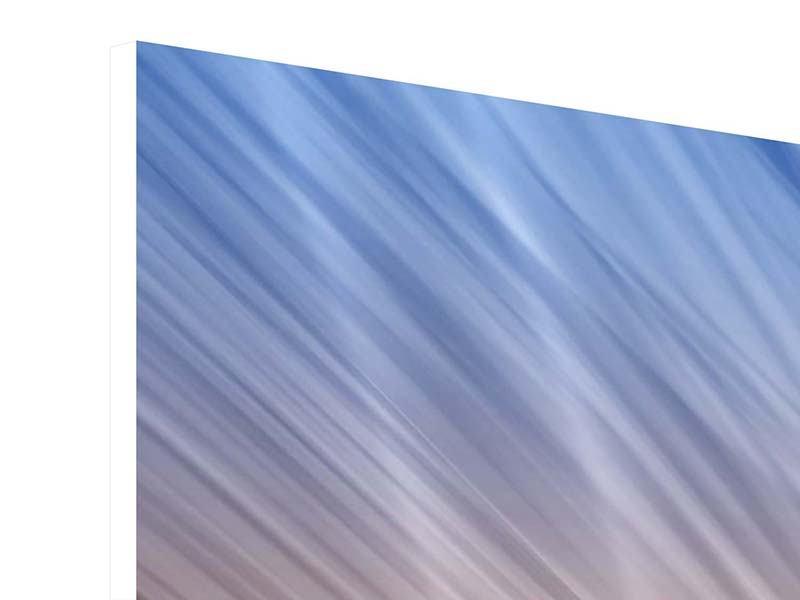 Hartschaumbild 4-teilig Abstraktes Lichterspiel