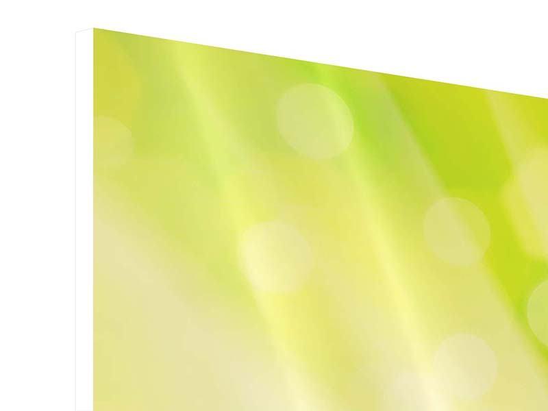 Hartschaumbild 4-teilig Lilienstrauss