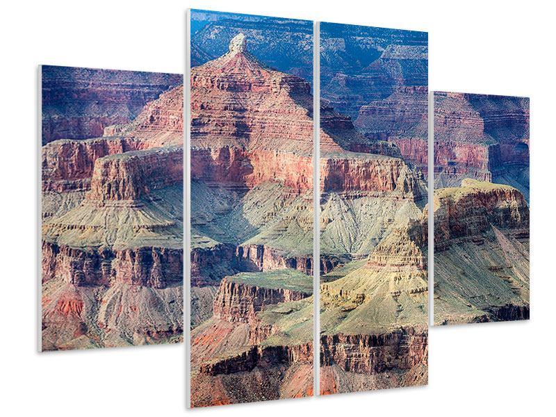 Hartschaumbild 4-teilig Gran Canyon