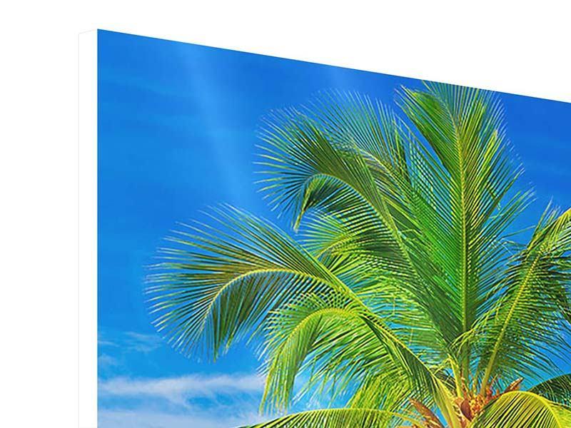Hartschaumbild Die Palme