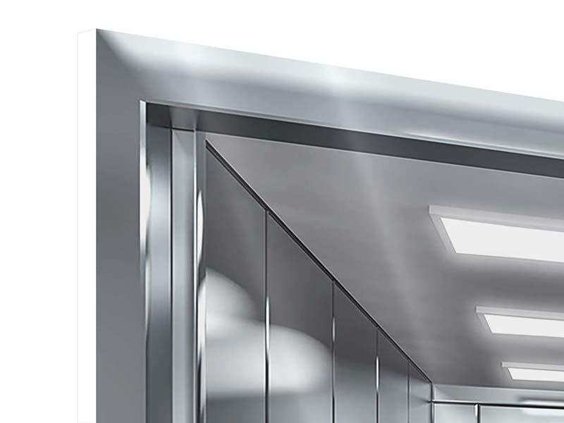 Hartschaumbild Aufzug