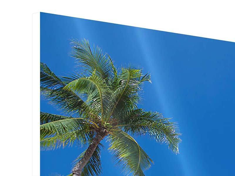 Hartschaumbild Sommer Sonne Strand