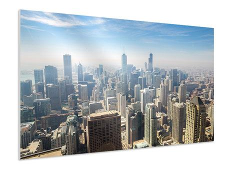 Hartschaumbild Wolkenkratzer Chicago