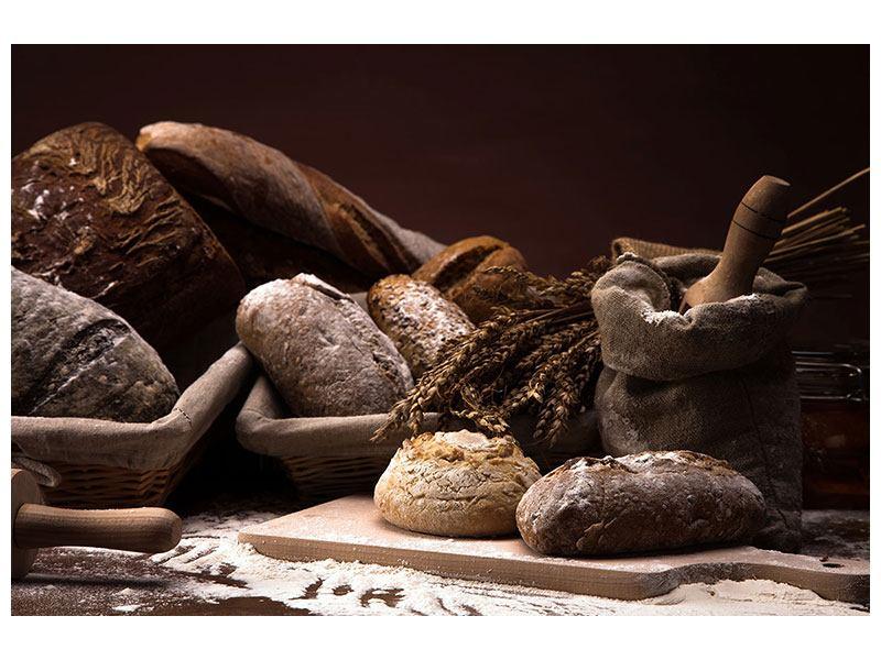 Hartschaumbild Brotbäckerei