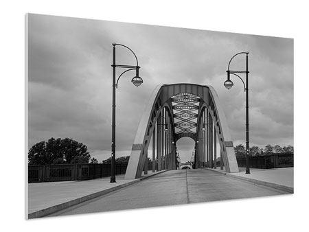 Hartschaumbild Poetische Brücke