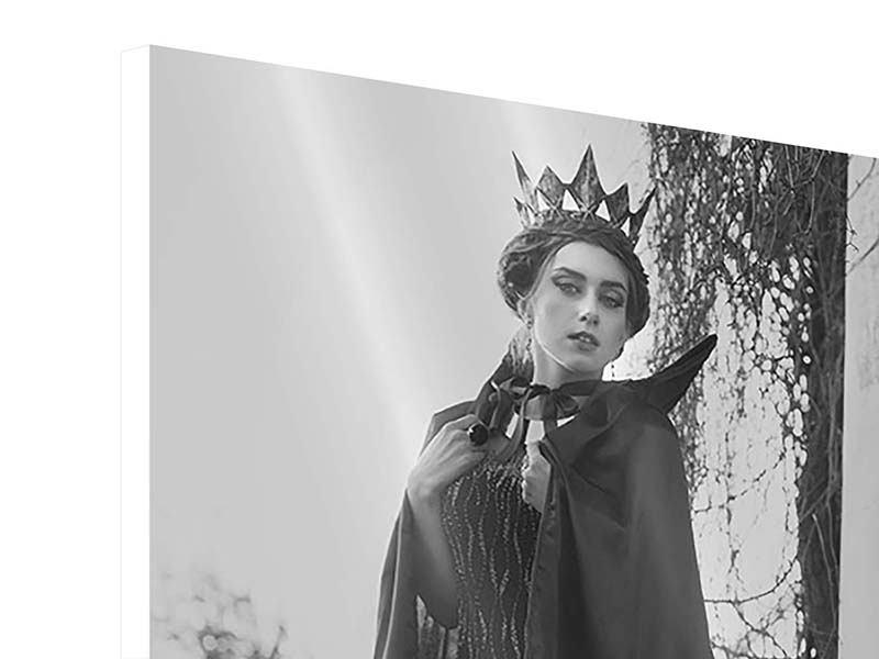 Hartschaumbild Die Königin