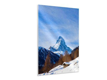 Hartschaumbild Das Matterhorn