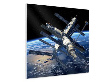 Hartschaumbild Raumstation