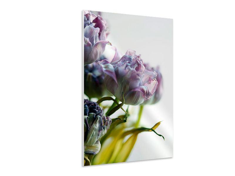Hartschaumbild Der Tulpenstrauss