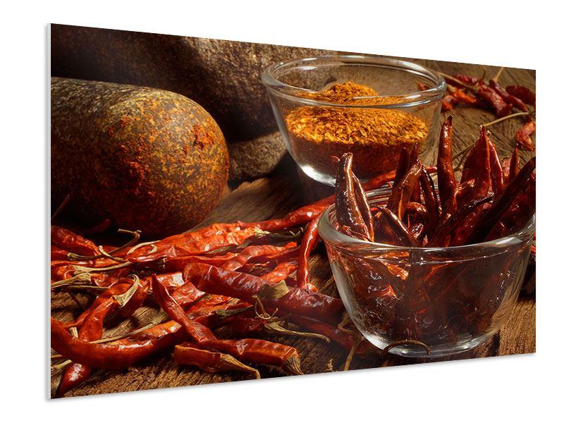 Hartschaumbild Chili