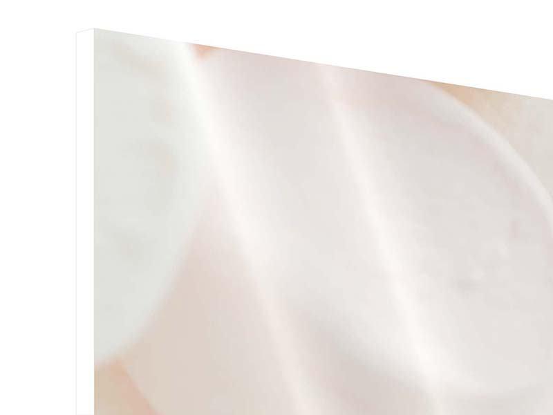 Hartschaumbild Marshmallow
