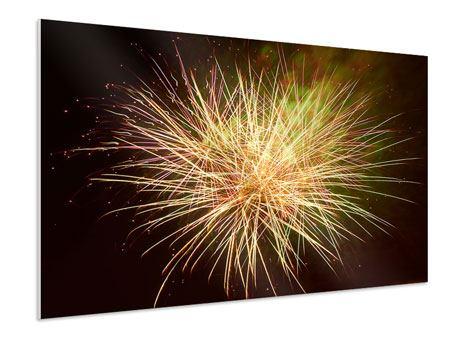 Hartschaumbild Feuerwerk XXL