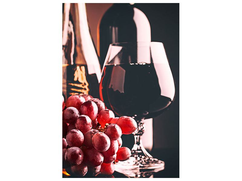 Hartschaumbild Rotwein