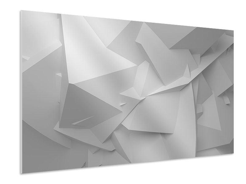 Hartschaumbild 3D-Raster
