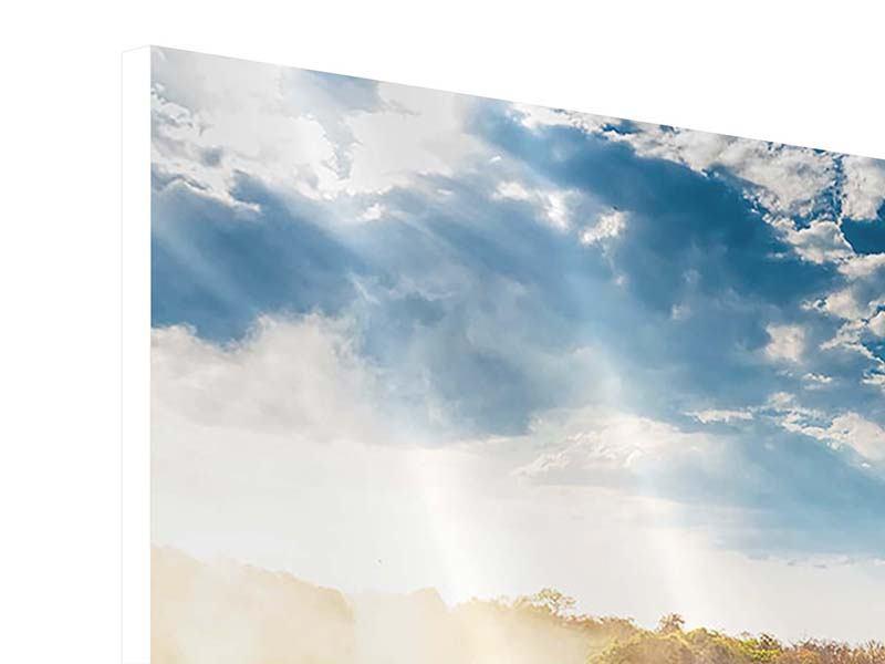 Hartschaumbild Victoria Falls