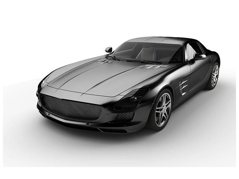 Hartschaumbild 007 Auto