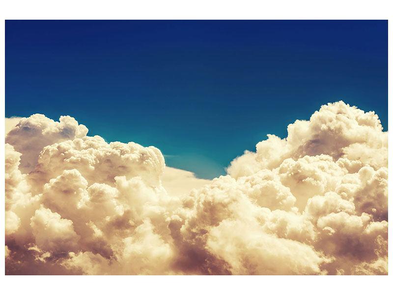 Hartschaumbild Himmelswolken