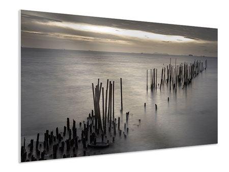 Hartschaumbild Das Meer und die Träne