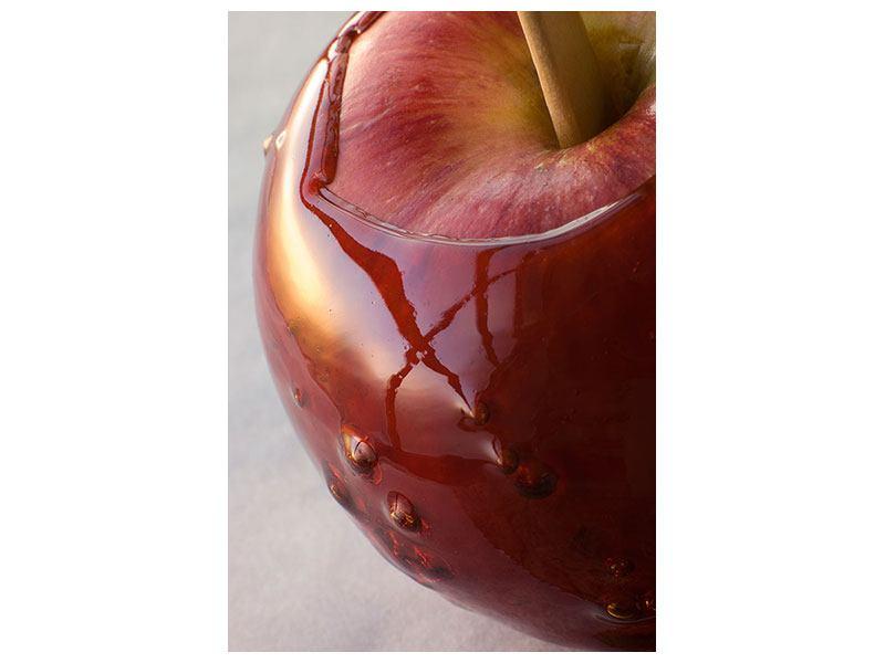 Hartschaumbild Apfel
