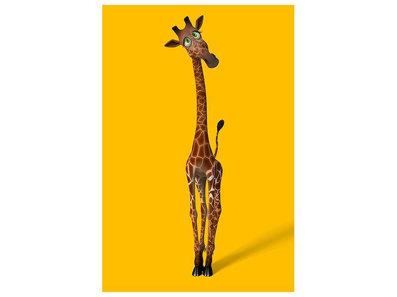 Hartschaumbild Giraffensweety