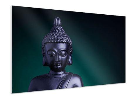 Hartschaumbild Die Weisheit des Buddhas