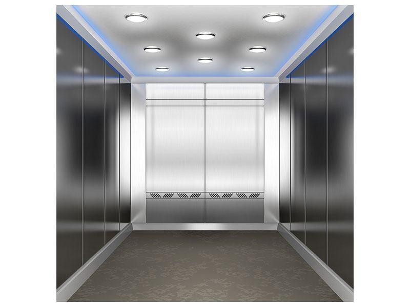 Hartschaumbild Eleganter Aufzug