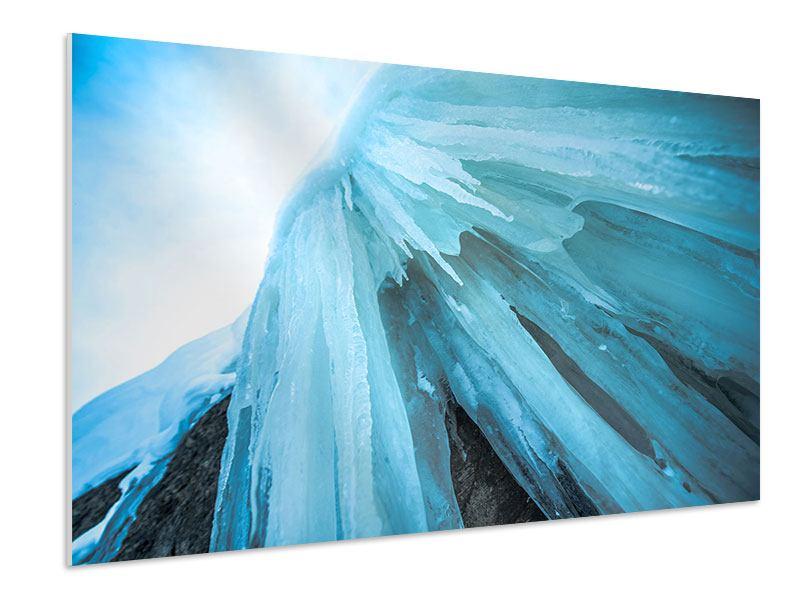 Hartschaumbild Die Eiswand
