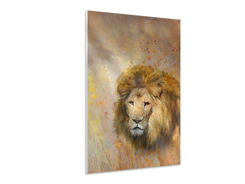 Hartschaumbild König der Löwen