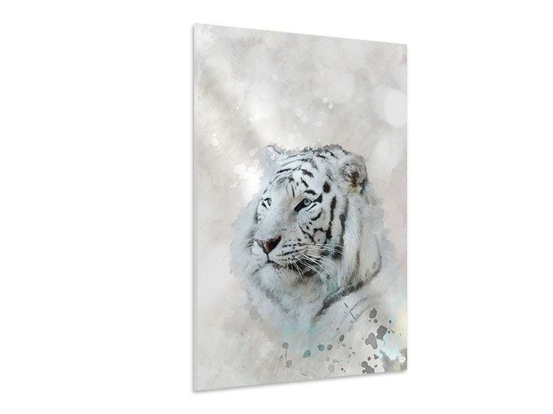 Hartschaumbild Tiger-Gemälde