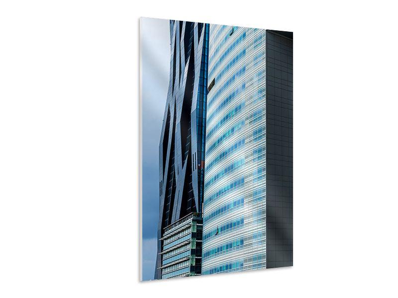 Hartschaumbild Wolkenkratzer