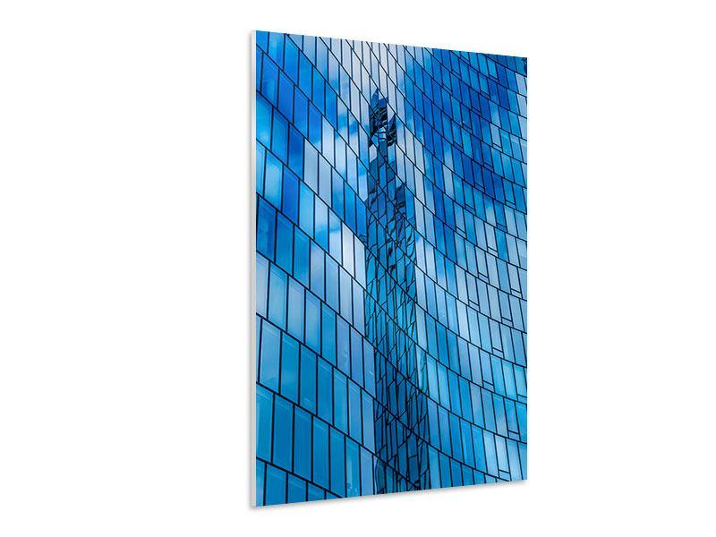 Hartschaumbild Glashaus