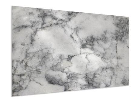 Hartschaumbild Klassischer Marmor