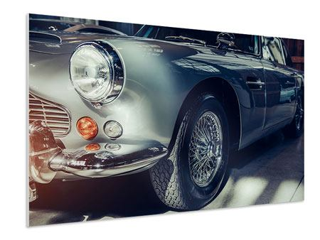 Hartschaumbild Classic Car