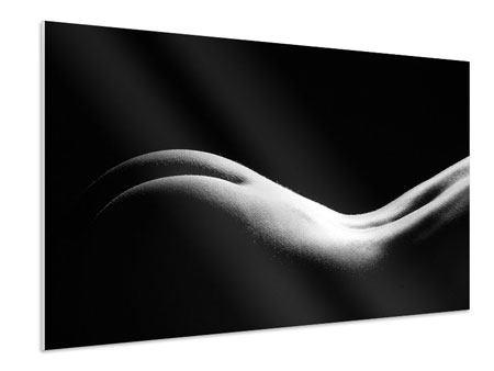 Hartschaumbild Nude