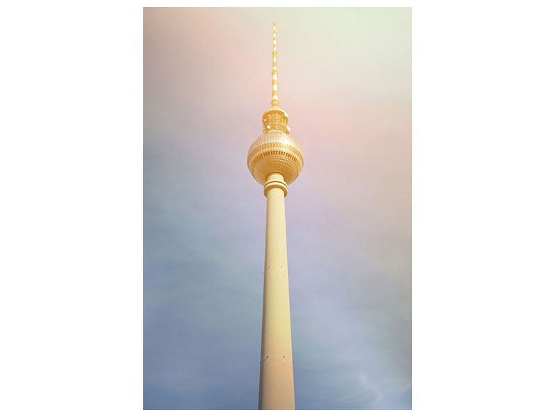 Hartschaumbild Berliner Fernsehturm