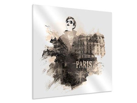 Hartschaumbild Pariser Modell