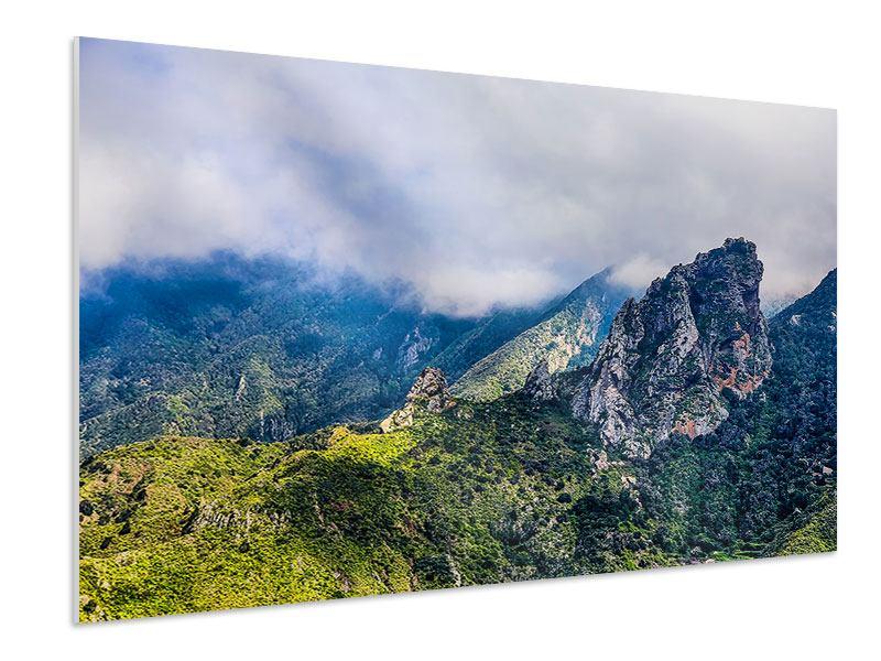 Hartschaumbild Der stille Berg