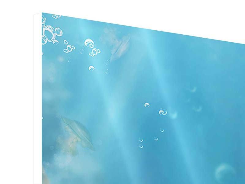 Hartschaumbild Unter Wasser