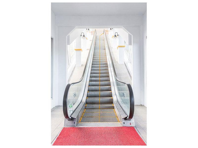 Hartschaumbild Rolltreppe