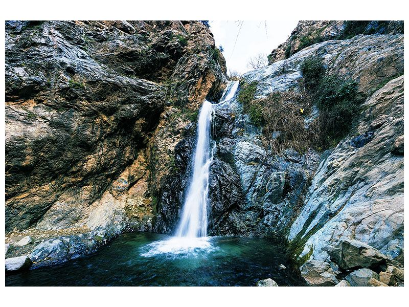 Hartschaumbild Bewegtes Wasser