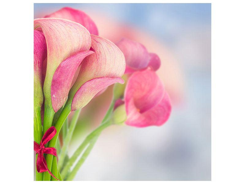 Hartschaumbild Der Lilienstrauss