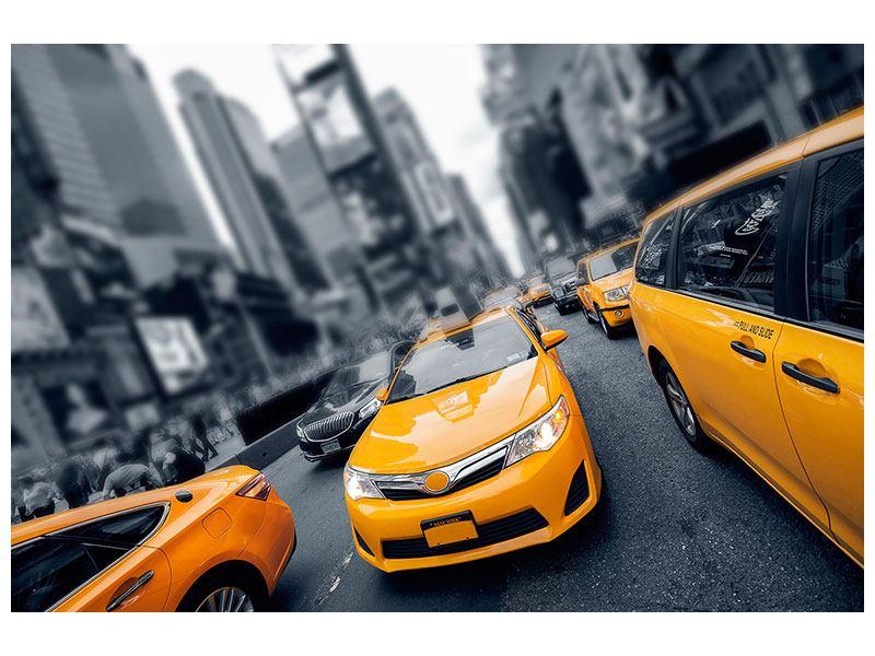 Hartschaumbild Taxi in NYC