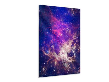 Hartschaumbild Das Universum