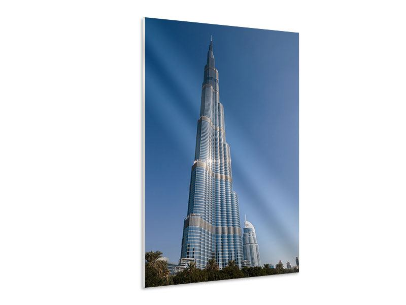 Hartschaumbild Wolkenkratzer Dubai