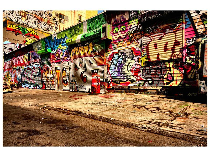 Hartschaumbild NY Graffiti