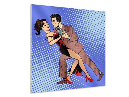 Hartschaumbild Pop Art Merengue