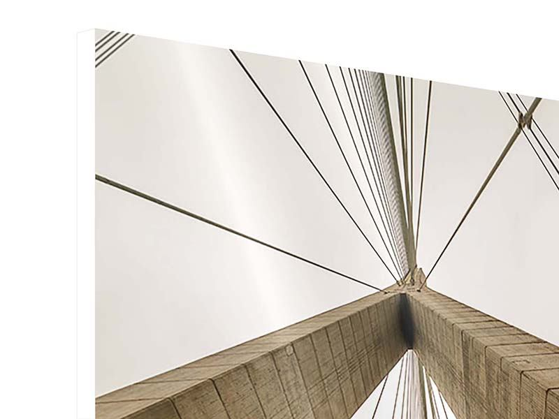 Hartschaumbild Brücke