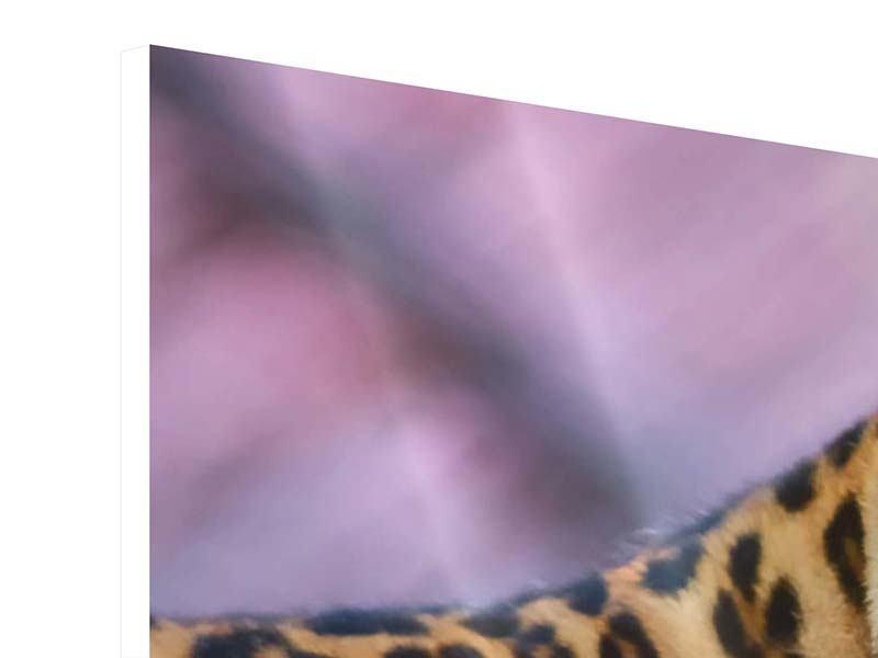 Hartschaumbild Leopard