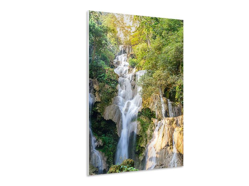 Hartschaumbild Berauschter Wasserfall