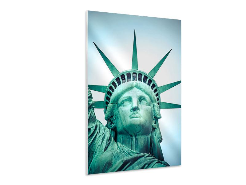 Hartschaumbild Statue of Liberty